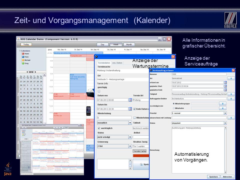 1612 Zeit- und Vorgangsmanagement (Kalender) Termine Fristen, Vorgänge und Dokumente visualisieren. Alle Informationen in grafischer Übersicht. Anzeig