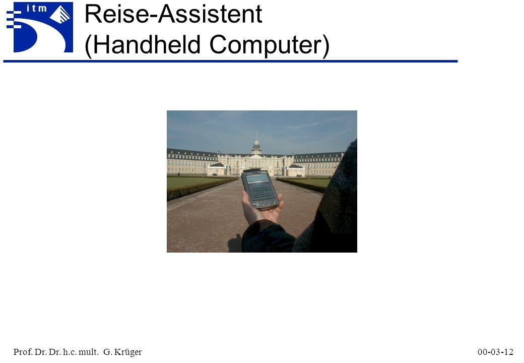 Prof. Dr. Dr. h.c. mult. G. Krüger00-03-12 itm Reise-Assistent (Handheld Computer)