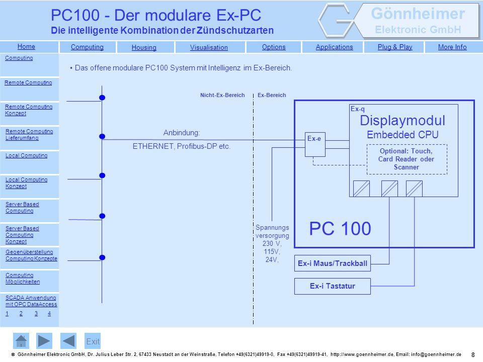 19 Gönnheimer Elektronic GmbH, Dr.Julius Leber Str.