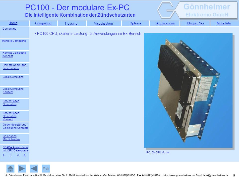 30 Gönnheimer Elektronic GmbH, Dr.Julius Leber Str.