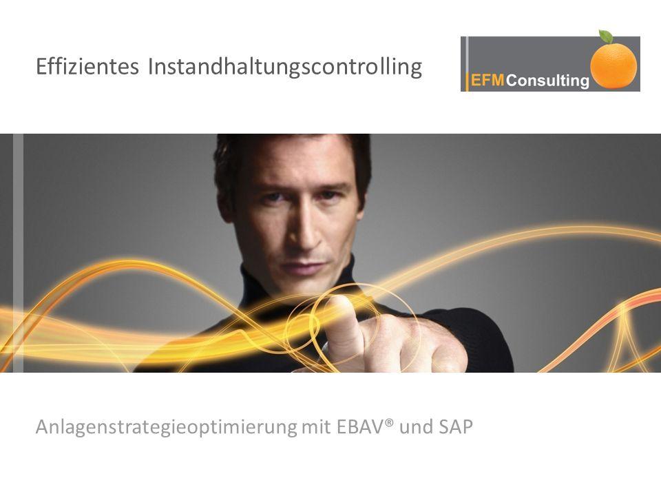 Anlagenstrategieoptimierung mit EBAV® und SAP Effizientes Instandhaltungscontrolling