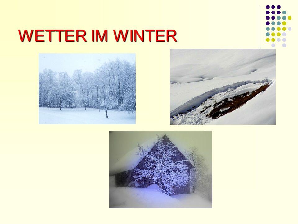 WETTER IM WINTER