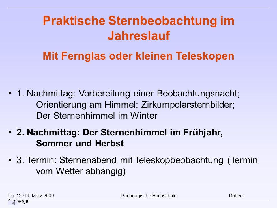 Do.12./19. März 2009 Pädagogische Hochschule Robert Seeberger 1.