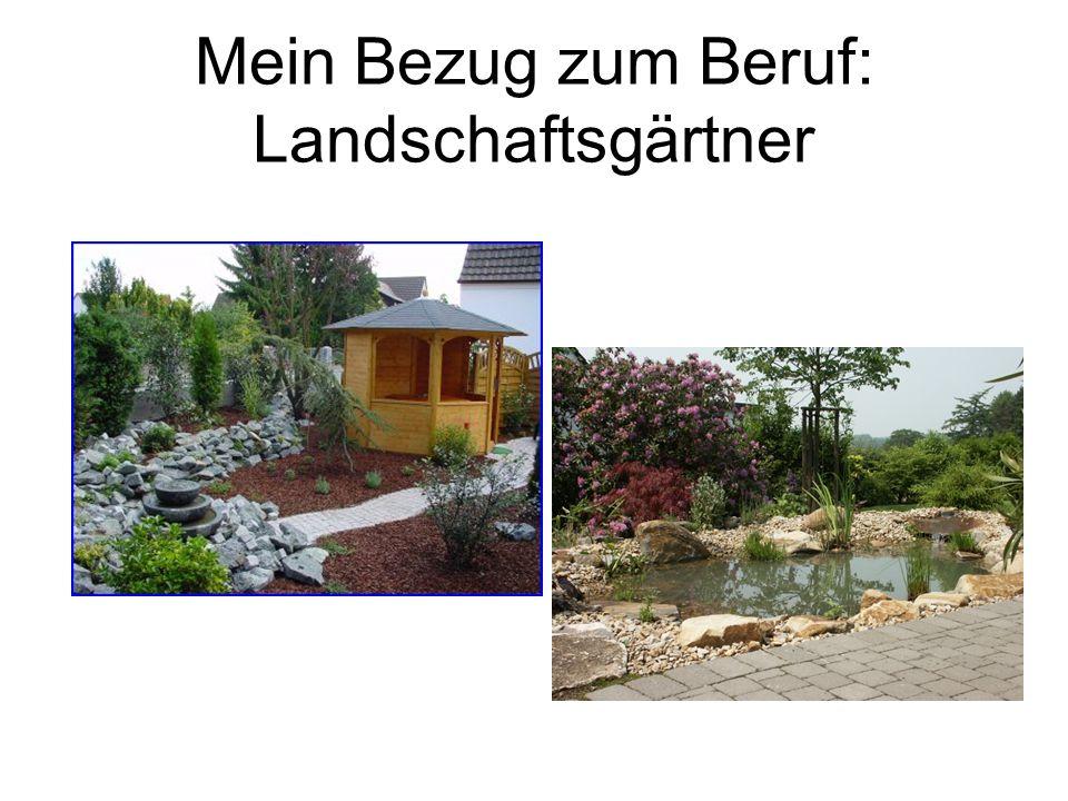 Besuch beim Landschaftsgärtner