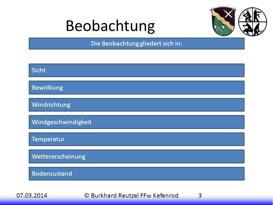 07.03.2014© Burkhard Reutzel FFw Kefenrod4 Sicht Die Sicht wird in Sichtweite angegeben.