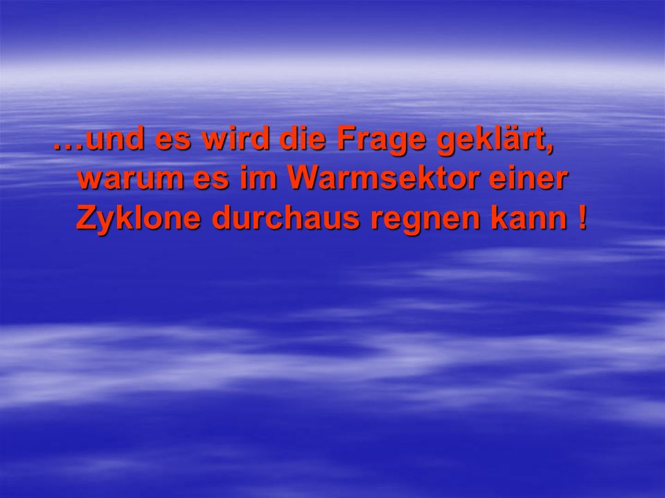 Wenig später (1937) machte J.Bjerknes auf die Vergenzen in den Wellen der Höhenströmung aufmerksam, die daraus resul- tieren, dass die Winde in den Trögen subgeostrophisch, in den Rücken dagegen supergeo- strophisch sind.