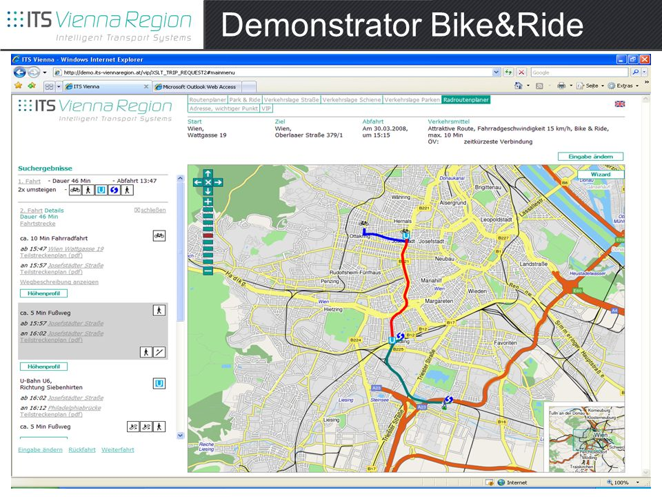 Demonstrator Bike&Ride