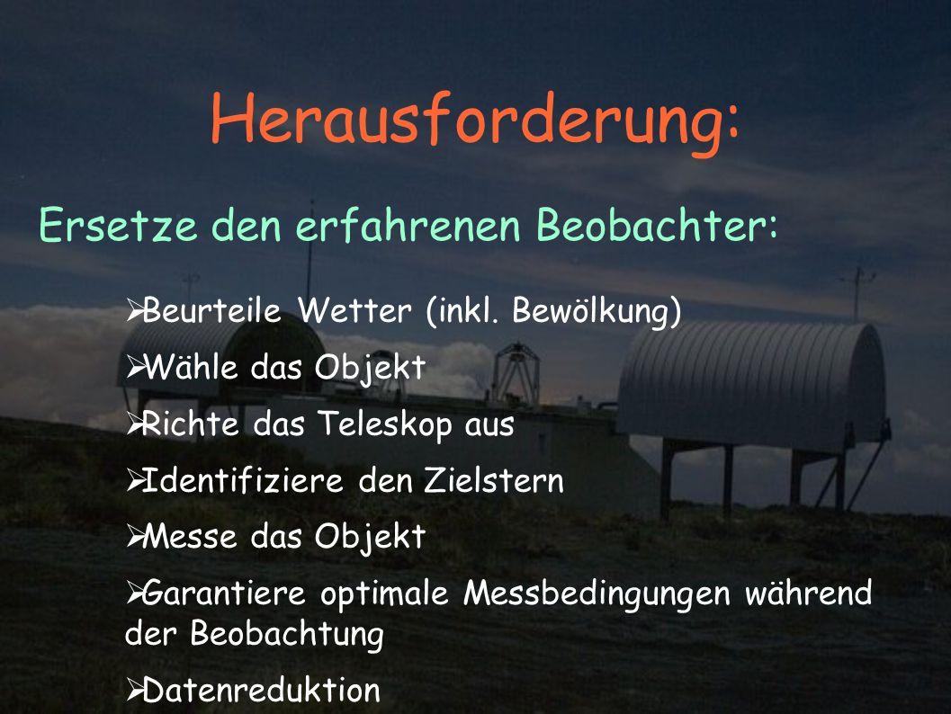 Herausforderung: Beurteile Wetter (inkl.