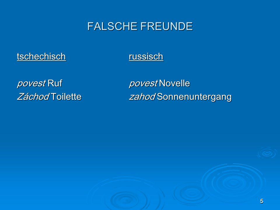 5 FALSCHE FREUNDE tschechischrussisch povest Rufpovest Novelle Záchod Toilettezahod Sonnenuntergang