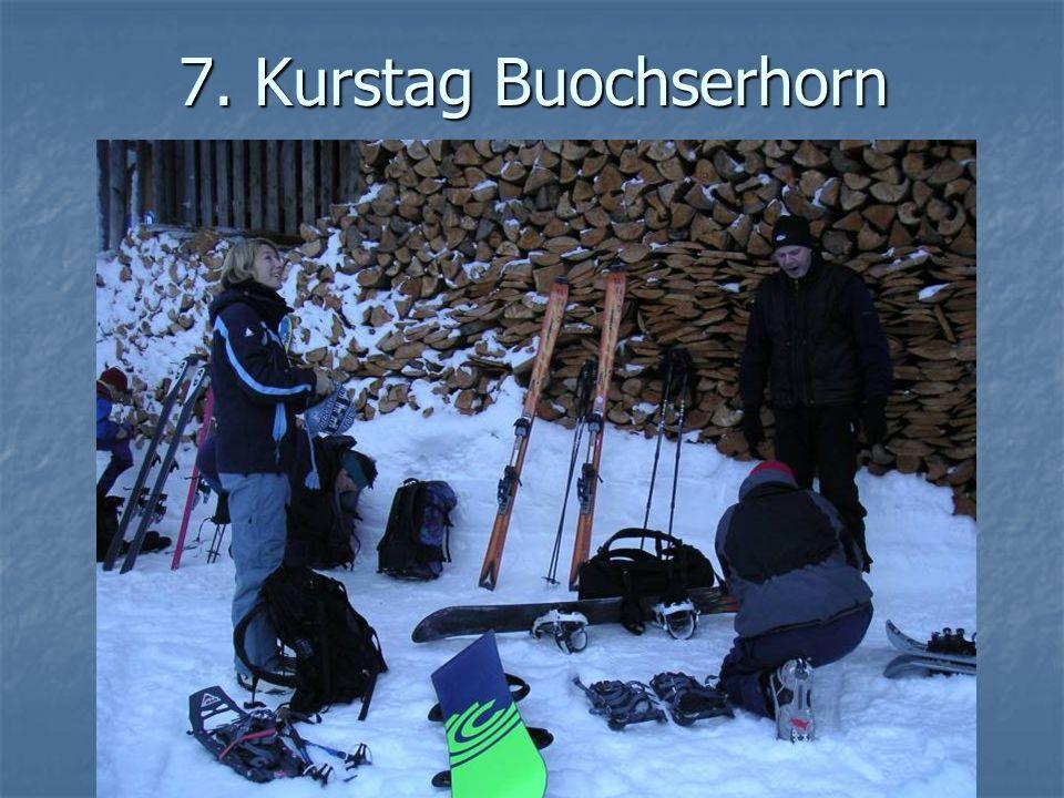 7. Kurstag Buochserhorn