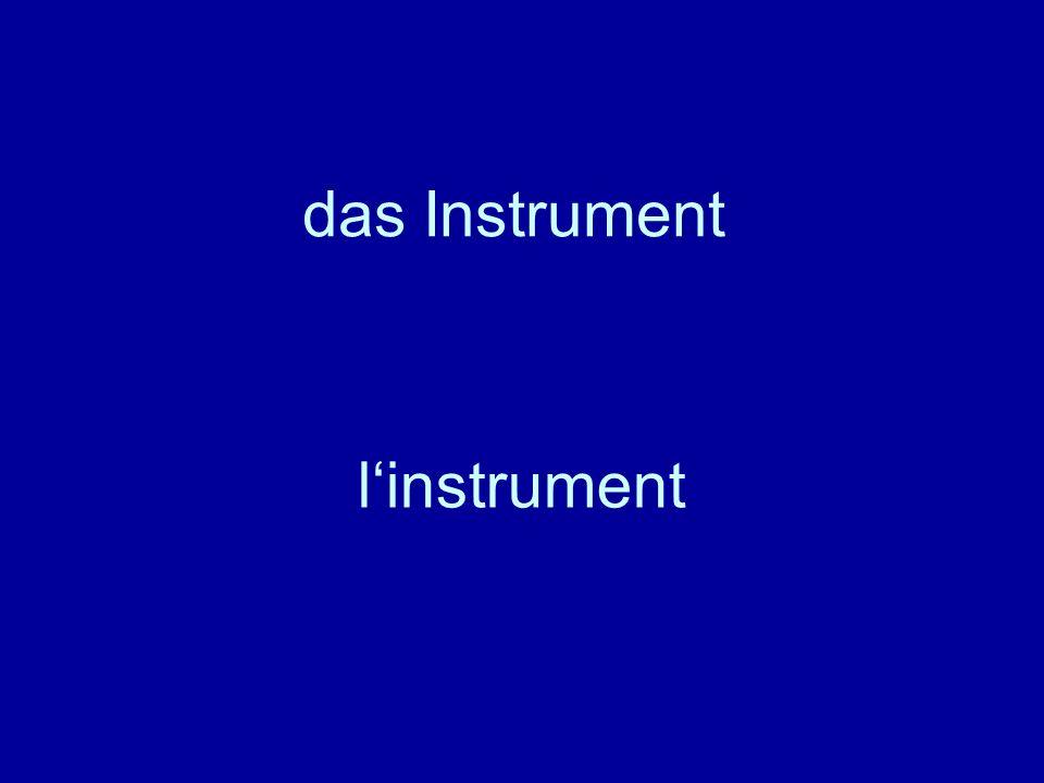 das Instrument linstrument
