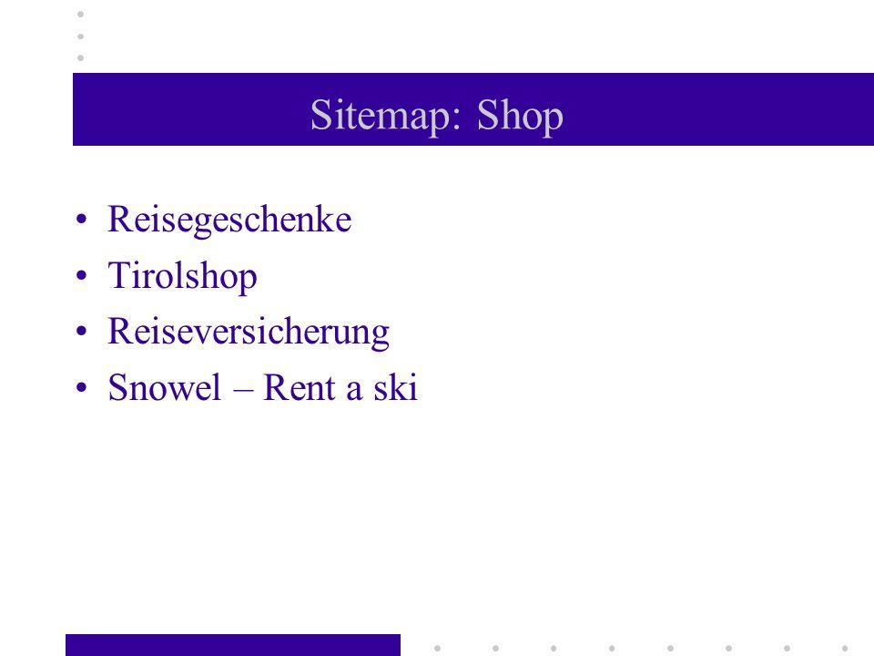 Sitemap: Shop Reisegeschenke Tirolshop Reiseversicherung Snowel – Rent a ski