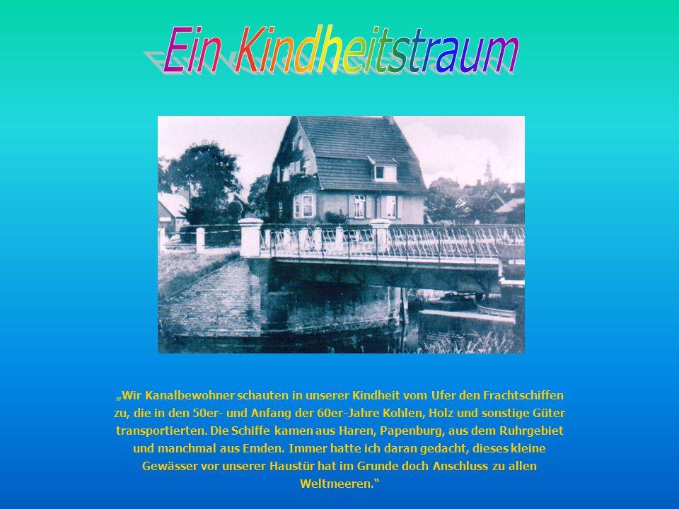 Im November 1998 auf einer Geburtstagfeier sagten Helmut und ich: Wir fahren mit unserem kleinen Stahlboot von Nordhorn nach Norderney.