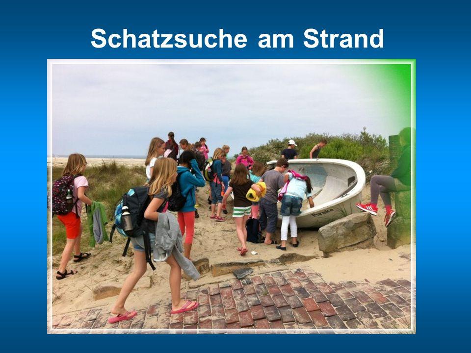 Schatzsuche am Strand