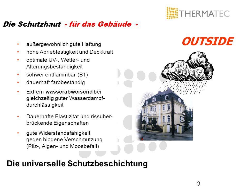 3 Unterschiedliches Rißverhalten im Bautenschutz Thermatec (ca.