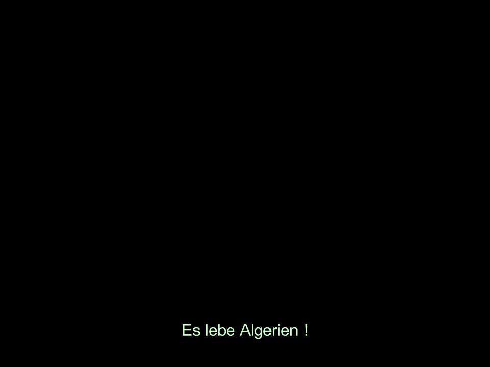 Es lebe Algerien !