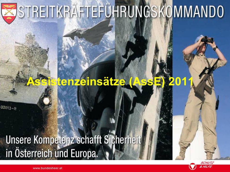 Assistenzeinsätze (AssE) 2011