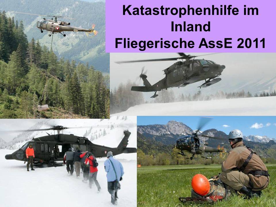 Obstlt Mag. Dr. Gerhard KÖSTNER MSD, Ltr Ref FüLuU Katastrophenhilfe im Inland Fliegerische AssE 2011