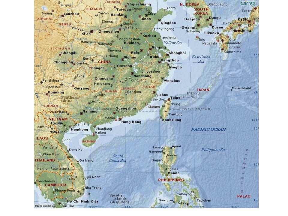 China als Vielvölkerstaat Neben den Han-Chinesen 55 staatlich anerkannte Ethnien 92 % der Bevölkerung Han Marginalisierung der anderen Ethnien im Südwesten Chinas, Migrationsdruck durch Han über Jahrhunderte hinweg Im Nordwesten Turk-Völker, z.B.