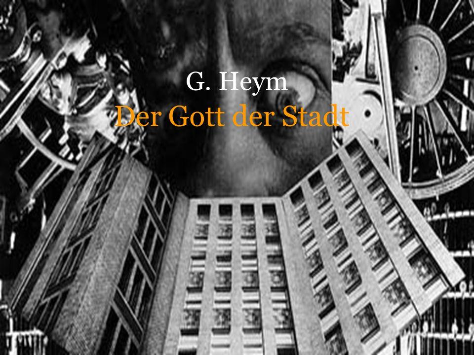 G. Heym Der Gott der Stadt