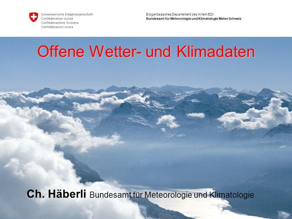 2 MeteoSchweiz@opendata.ch 28.6.2012 Ch. Häberli Incredible art made with open-source weather data