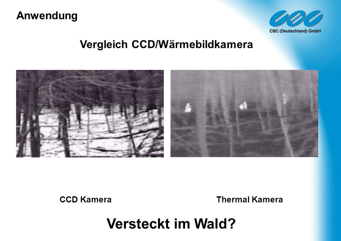 CCD Kamera Thermal Kamera Versteckt im Wald? Vergleich CCD/Wärmebildkamera Anwendung