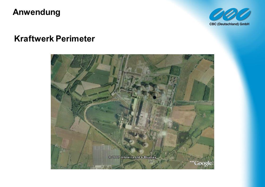 Kraftwerk Perimeter Anwendung
