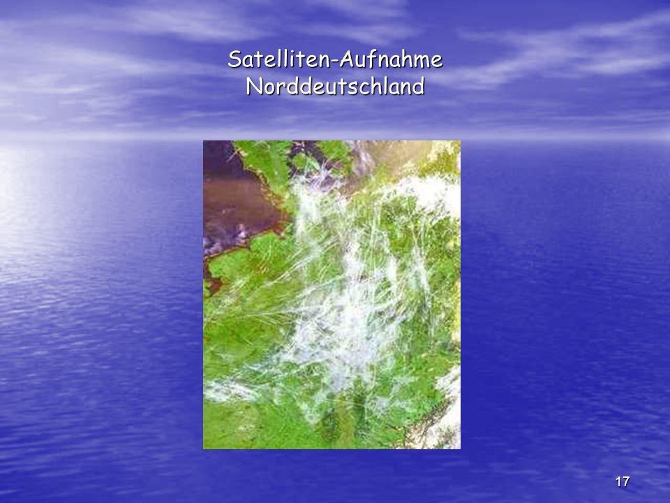 17 Satelliten-Aufnahme Norddeutschland