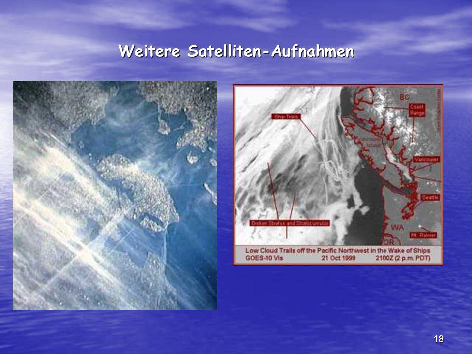 18 Weitere Satelliten-Aufnahmen