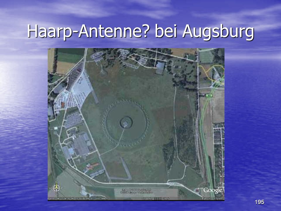195 Haarp-Antenne? bei Augsburg
