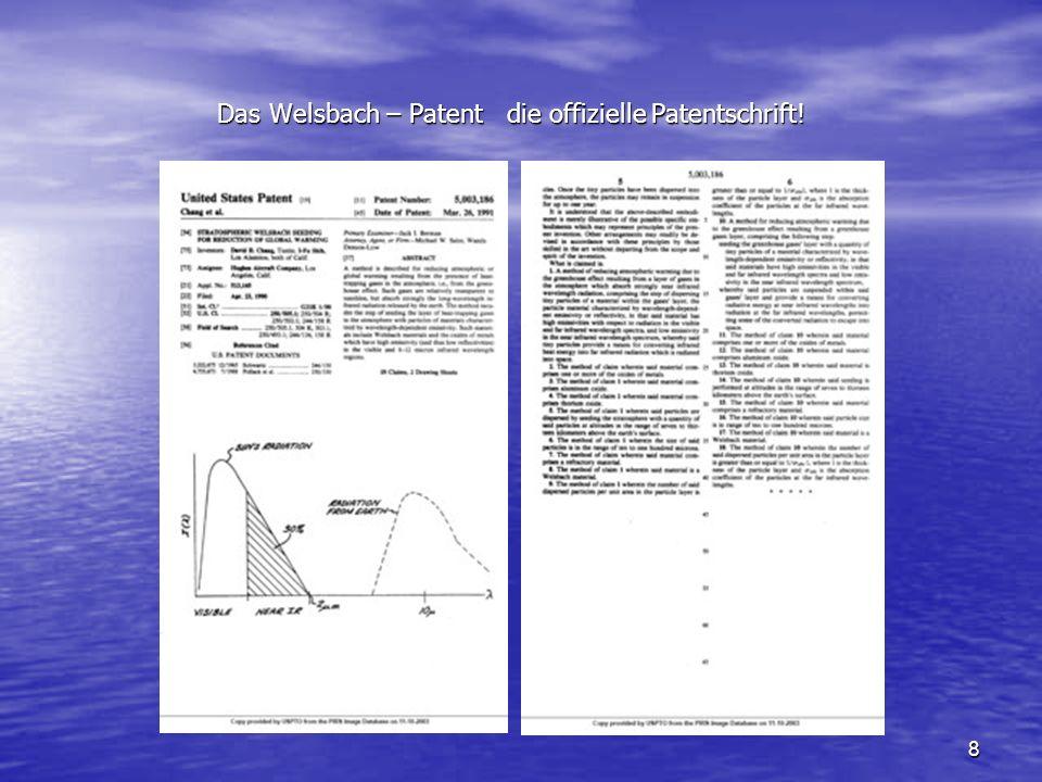 8 Das Welsbach – Patent die offizielle Patentschrift!