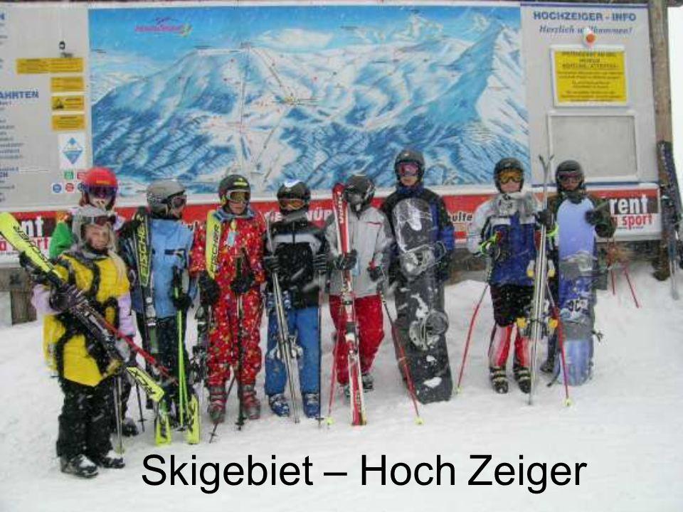 Skigebiet – Hoch Zeiger