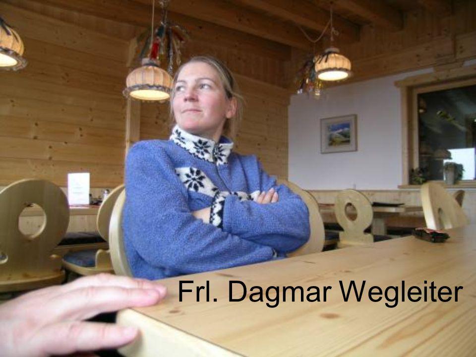 Frl. Dagmar Wegleiter