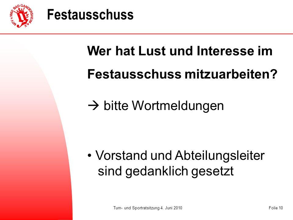 Tempo Turn- und Sportratsitzung 4.