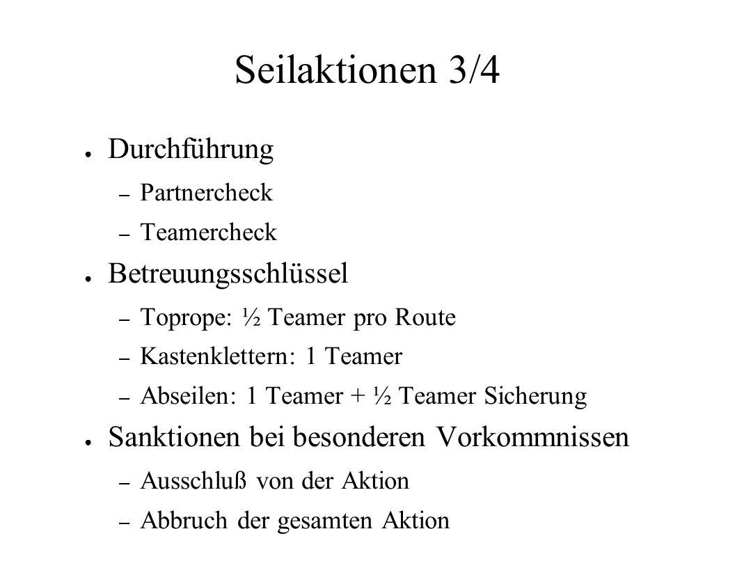 Karabiner 2/3 Schnappkarabiner – Expressen (Vorstieg) – Umlenkpunkte Schraubkarabiner – Selbstsicherung – Fixpunkte – Umlenkpunkte – Teilnehmersicherung
