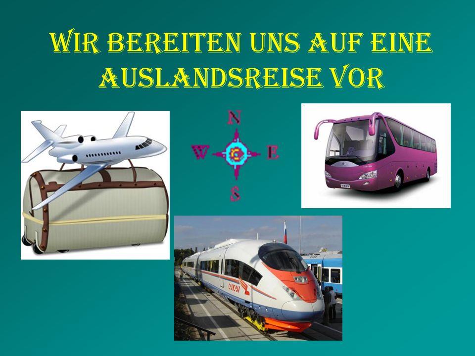 euDltschnadDeutschland Unser Reiseziel ist Wir wählen zuerst das Reiseziel.