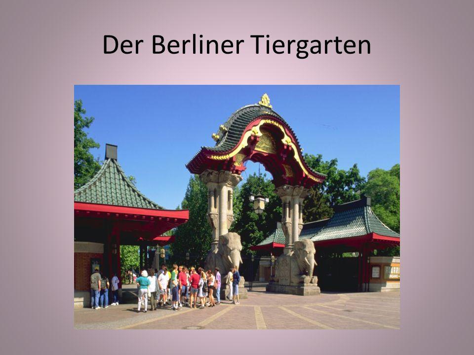 Der Berliner Tiergarten