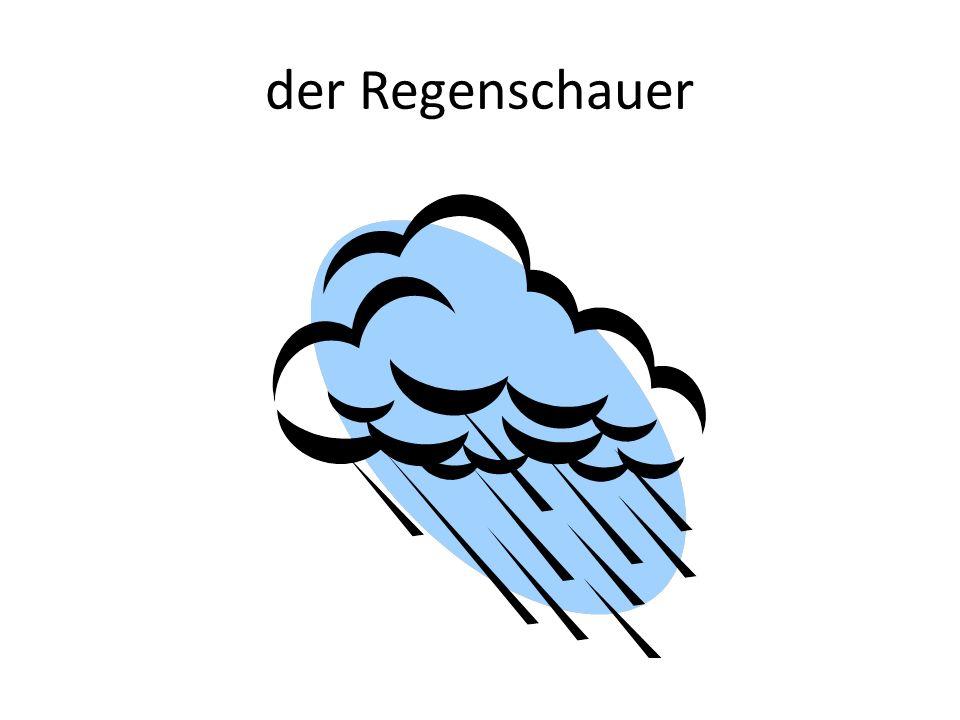 der Regenschauer