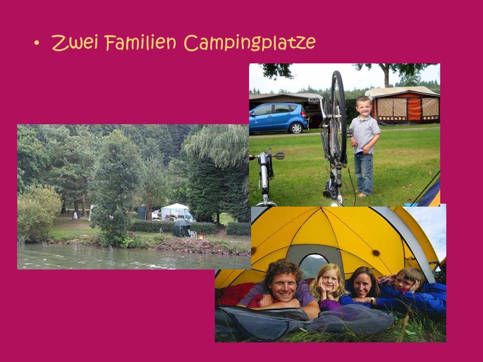 Zwei Familien Campingplatze