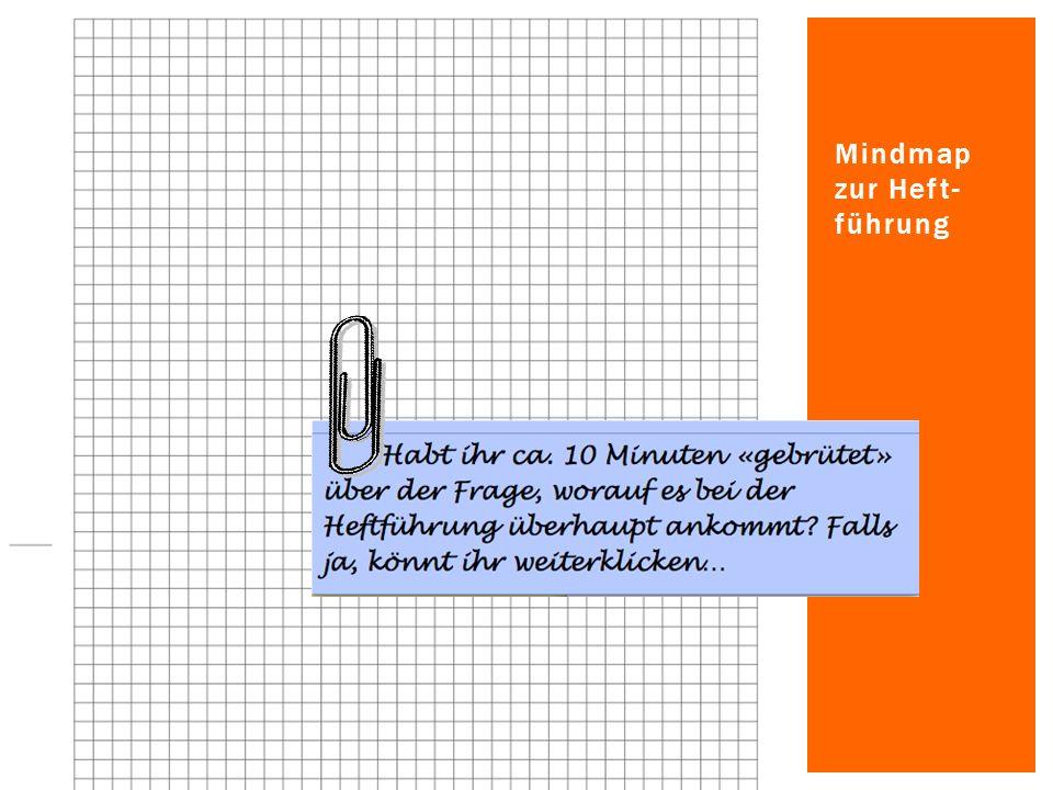 Jetzt bist du in der Lage, weitere Vertiefungs- module nach Anleitung der Lehrperson anzupacken – dort lernst du gezielt und systematisch, wie man ein Heft oder einen Ordner gut führt.
