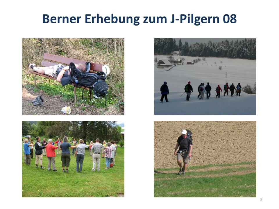 Berner Erhebung zum J-Pilgern 08 3
