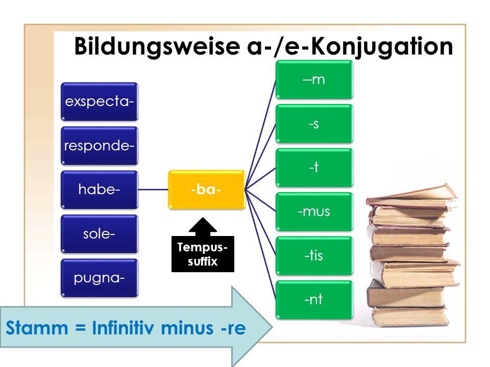 Bildungsweise i-/kons.Konjugation/kons-i Konj.