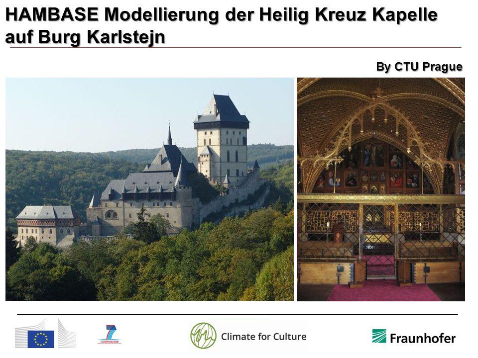 HAMBASE Modellierung der Heilig Kreuz Kapelle auf Burg Karlstejn By CTU Prague
