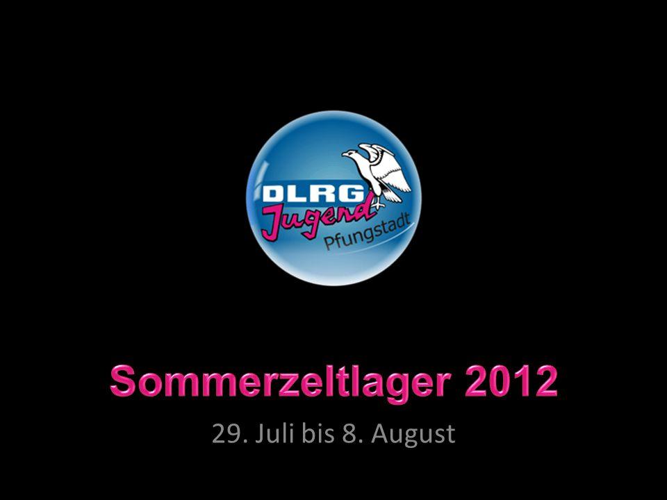 Sommerzeltlager 2012 29.Juli bis 8.