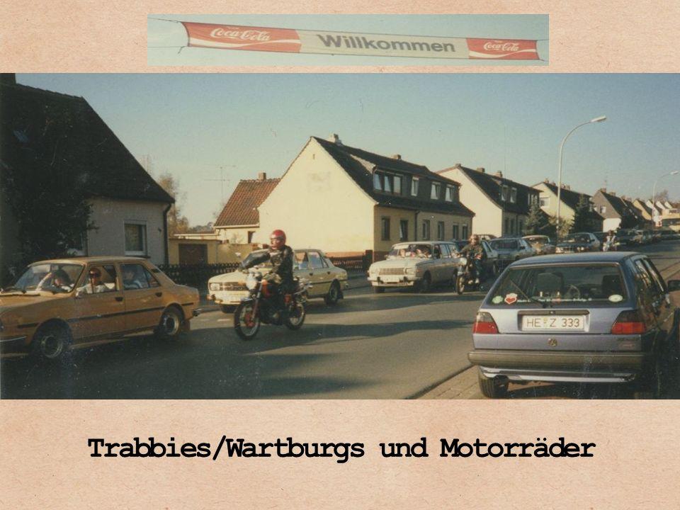 Trabbies/Wartburgs und Motorräder