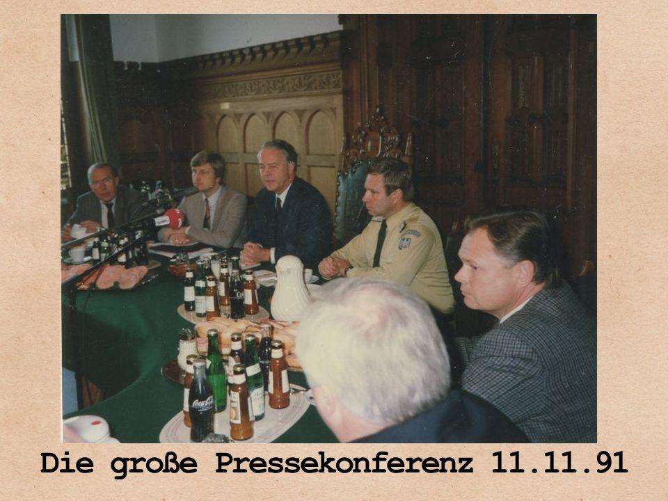 Die große Pressekonferenz 11.11.91