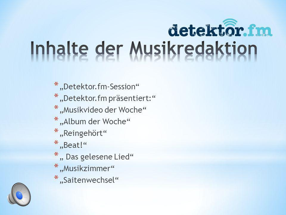 * Leitung der Musikredaktion * gregor.schenk@detektor.fm