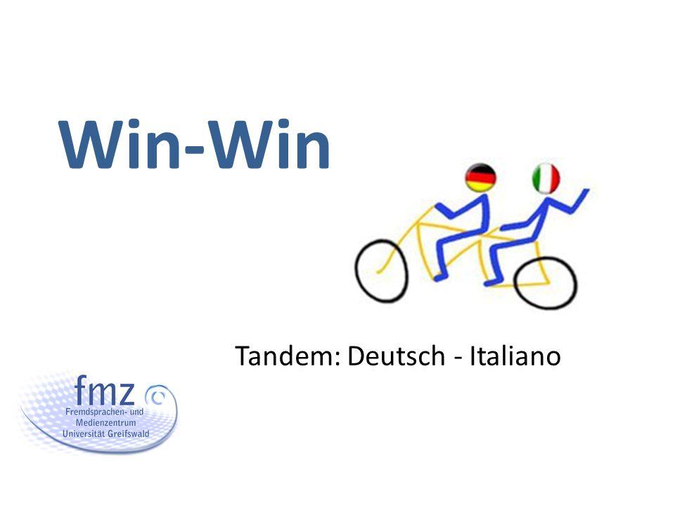 Tandem: Deutsch - Italiano Win-Win