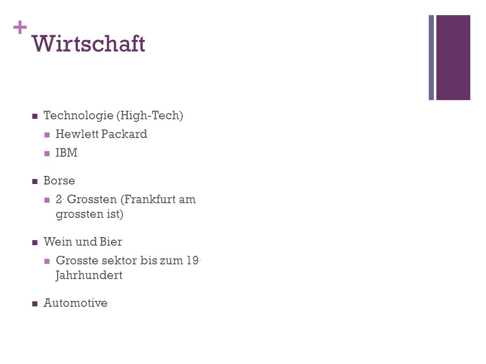 + Wirtschaft Technologie (High-Tech) Hewlett Packard IBM Borse 2.