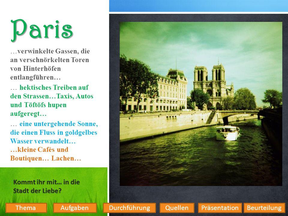 Aufgaben Wie viele Menschen leben in Paris und wie viele Stadtviertel gibt es.